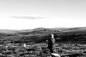 Landscape Acrylics day 1 @ Wildwood Arts Dartmoor