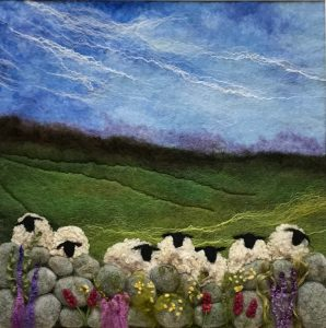 PRIVATE VIEW: Sue lewis. Homespun from Devon.