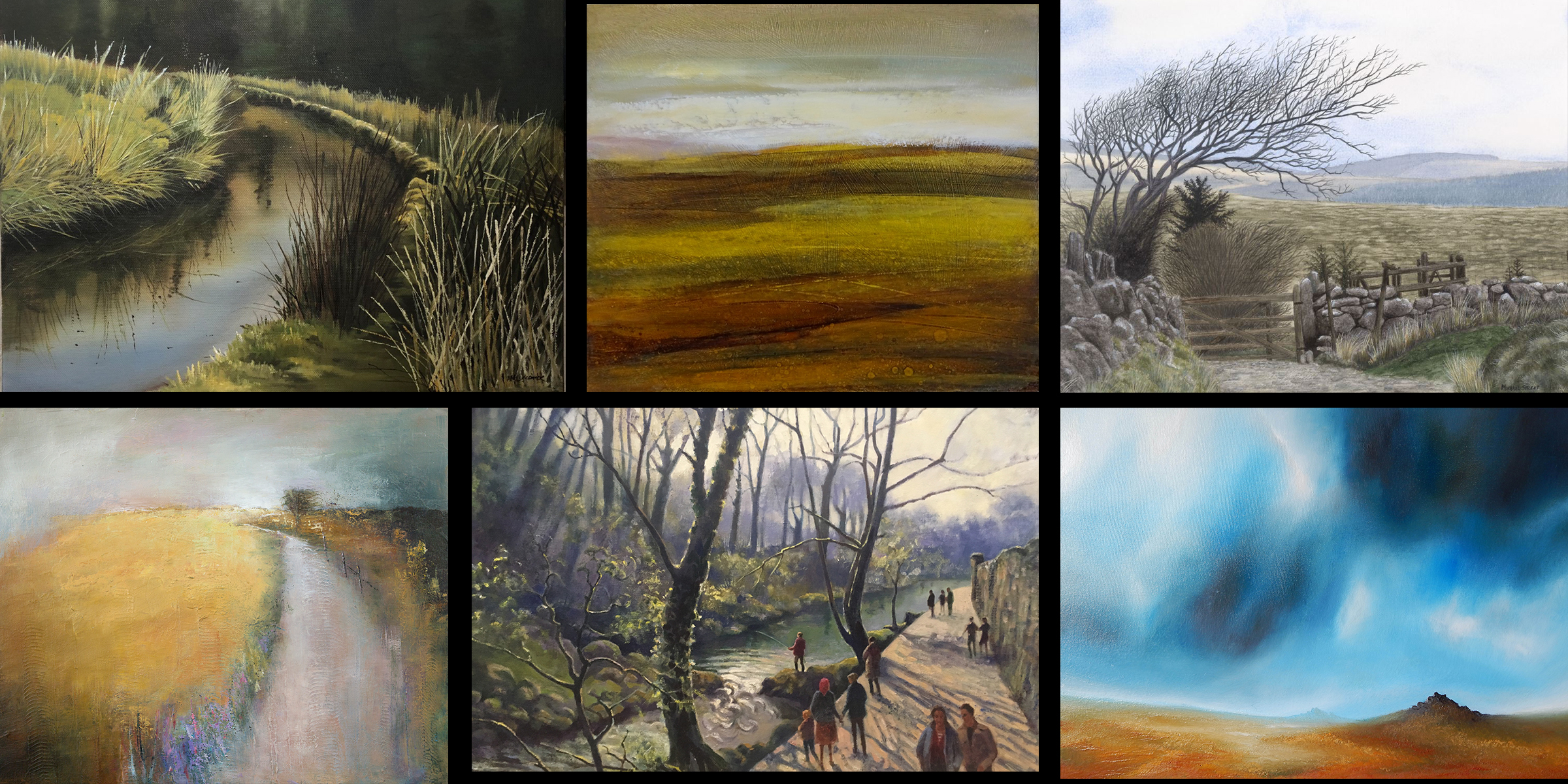 Landscape and gardens exhibition on now!