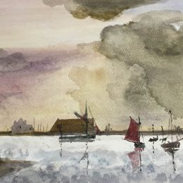 Watercolour by Peter