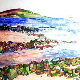 watercolour by Hannah