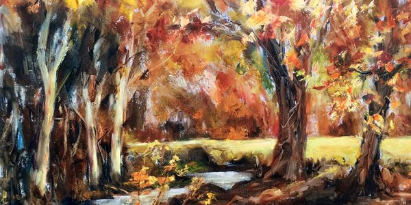 Fayle. Autumn On The Dart Bovey Tracy £545 copy