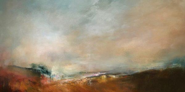 Kirkcaldy Combestone Vista Original Oil on canvas £925.00 78 x 58 95 x 76 White frame
